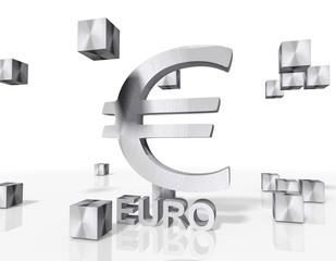 construction of a Euro icon