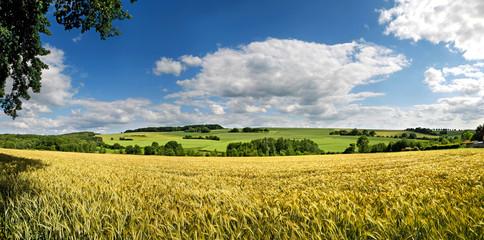 Saarland – Landschaft bei Eiweiler / Heusweiler
