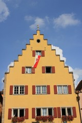 Fassade in Rothenburg