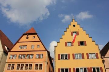 Fassade in Rothenburg