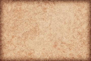 Recycle Paper Ocher Coarse Grain Mottled Vignette Grunge Texture