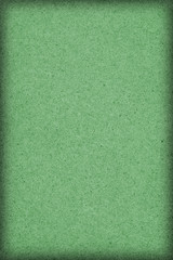 Recycle Paper Kelly Green Coarse Grain Vignette Grunge Texture