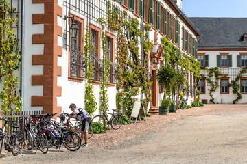 Radfahrer Basilika