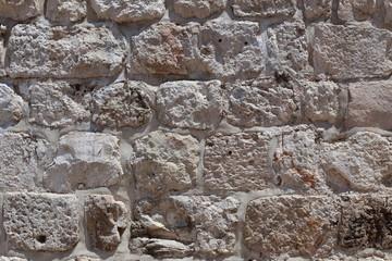 Stone wall of Jerusalem