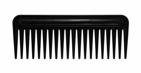 black hair comb