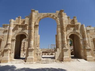 Puerta Sur Gerasa (Jerash), Jordania