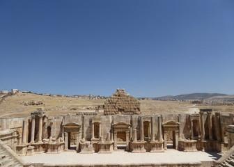 Anfiteatro en Jerash