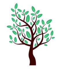 vector eco tree