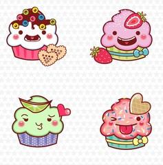 cupcake cartoon 02