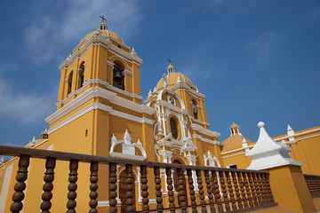 Cathedral in the Plaza de Armas in Trujillo, Peru
