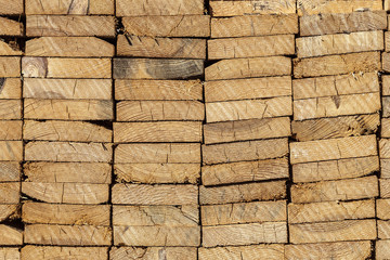 Holzbretter Baumaterial