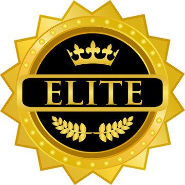 Elite Gold Badge
