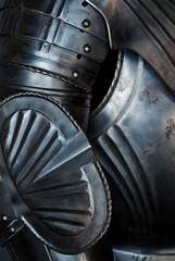 Detail einer historischen  Ritterrüstung