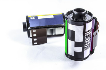 35 Mm Negative Film - roll of photographic film