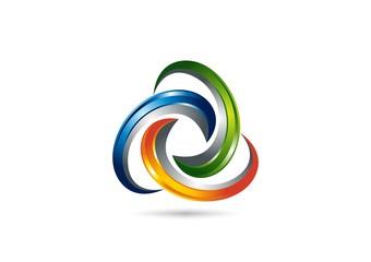 network,Logo,media,connection,tech,business,swirl,sphere,modern