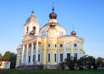 Cathedral of the Dormition in Myshkin, Russia.