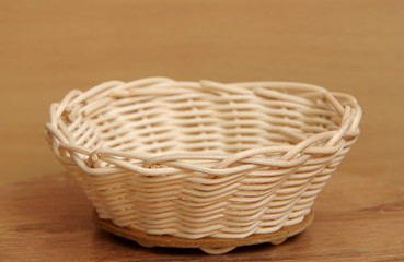 Basket weaving from rattan