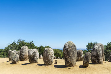 Almendres megalithic complex, Portugal Wall mural