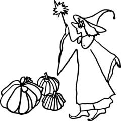 Magic on the Halloween