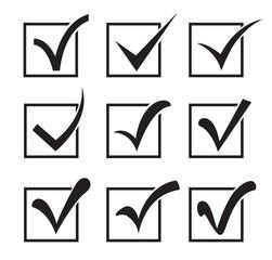 Checkbox icons