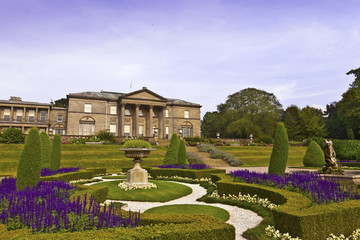 Historic English stately home and garden.