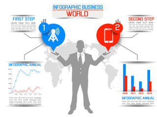 INFOGRAPHIC BUSINESS WORLD