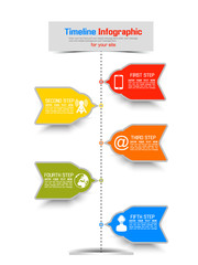 TIMELINE INFOGRAPHIC NEW STYLE 3