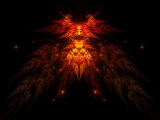 Devil fractal shape