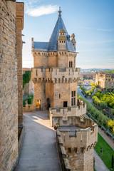 Fotorolgordijn Kasteel Olite Castle in Navarra, Spain