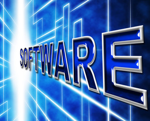 Technology Software Represents Application Program And Freeware