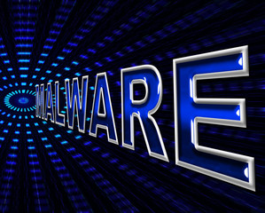 Security Malware Means Trojan Encrypt And Infection