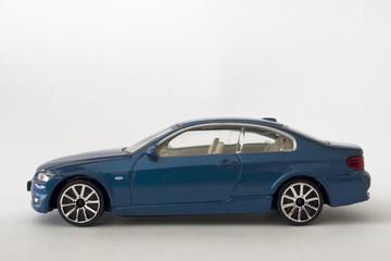 Modern Blue Sports Car