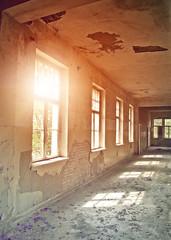 Fototapete - hallway