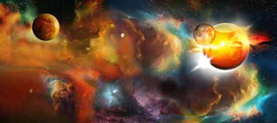 Universum, Sterne, Galaxie,