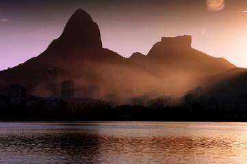 Rio de Janeiro at sunset