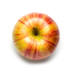Honeycrisp Apple on White