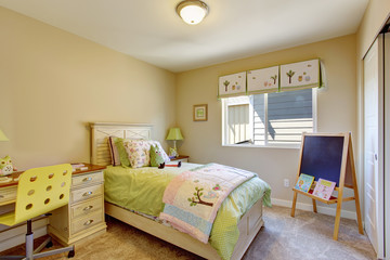Cheerful brigh kids room