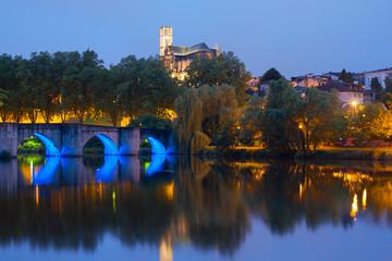 Limoges at night