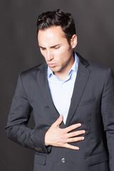 Stress verursacht Bauchschmerzen