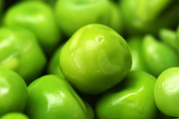 Close up of peas (macro)
