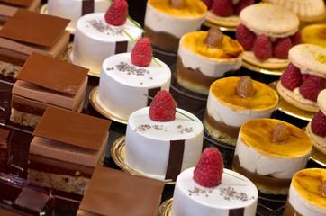 Photo sur Plexiglas Dessert Chocolate cakes