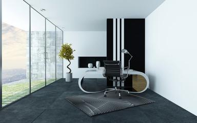 Stylish modern office or study