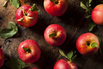 Raw Organic Red Gala Apples