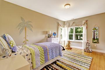 Charming kids room interior