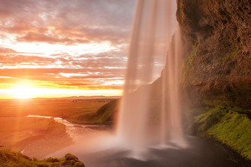 Fototapete - Seljalandsfoss