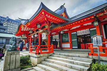 tsuta shrine , one of the oldest shrine in Japan.
