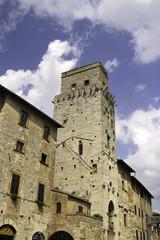 San Gimignano, Tuscany. Color image