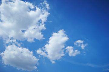 Clear sky Fotobehang