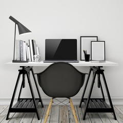 workspace mock up background