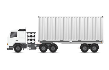 Trailer and container